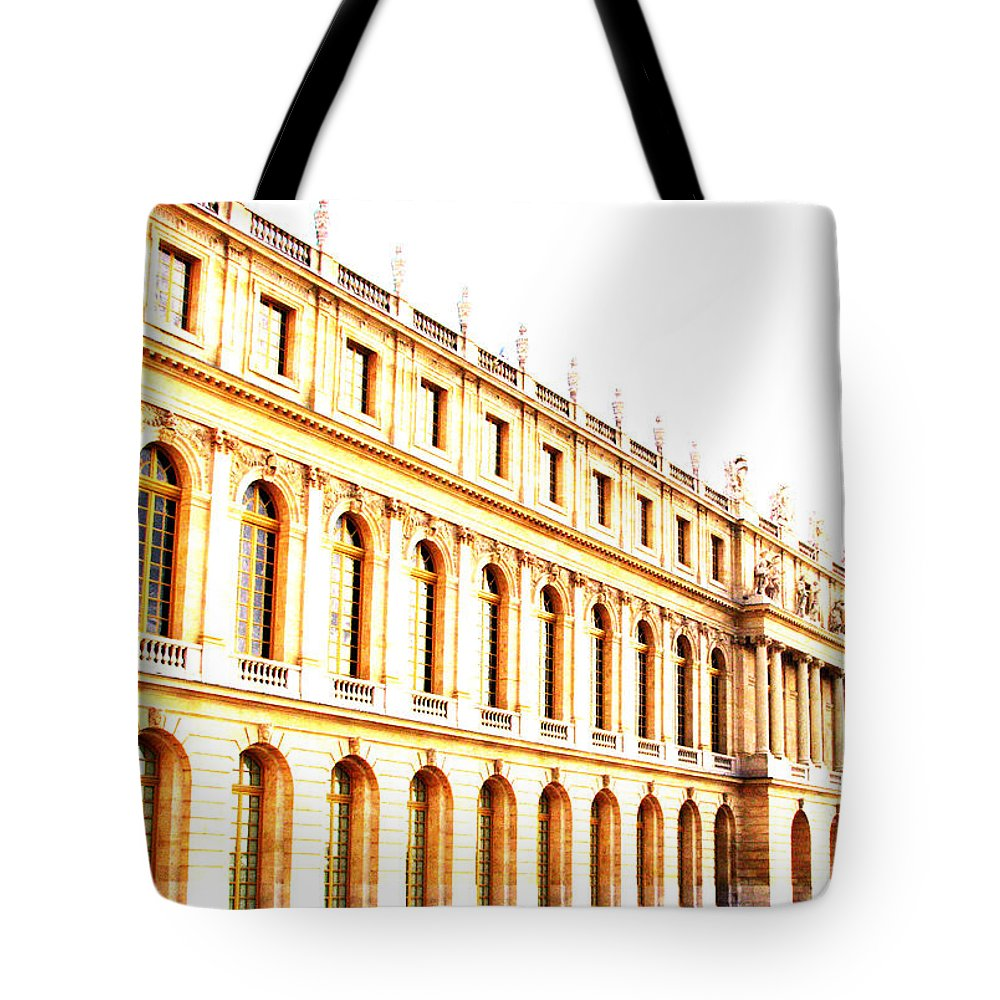 Versailles Tote Bag featuring the photograph The Palace by Amanda Barcon