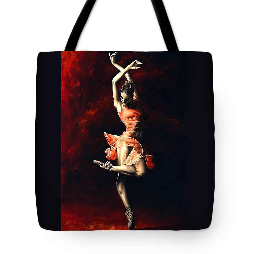 Sexy Dancer Tote Bags