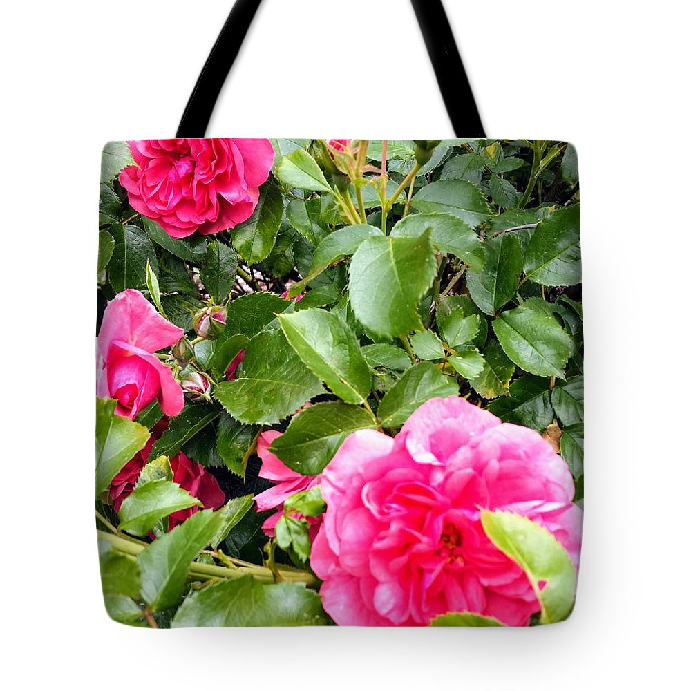 Botanical Flower's Nature Tote Bag featuring the photograph The peaceful place 10 by Valerie Josi