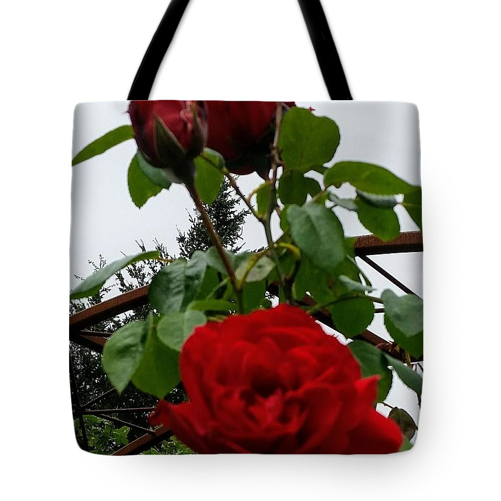 Botanical Flower's Nature Tote Bag featuring the photograph The peaceful place 7 by Valerie Josi