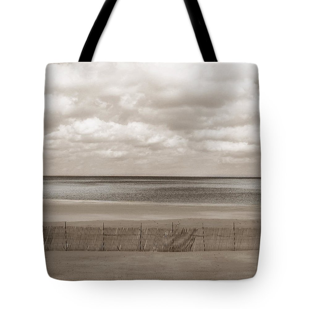 Ocean Tote Bag featuring the photograph The Perfect Sky Is Torn by Dana DiPasquale