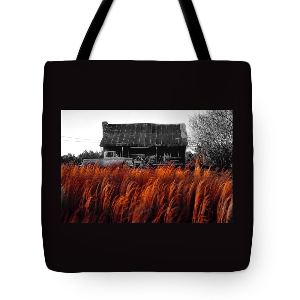 Turck Tote Bag featuring the photograph The Pick-up Truck by Mike Nellums