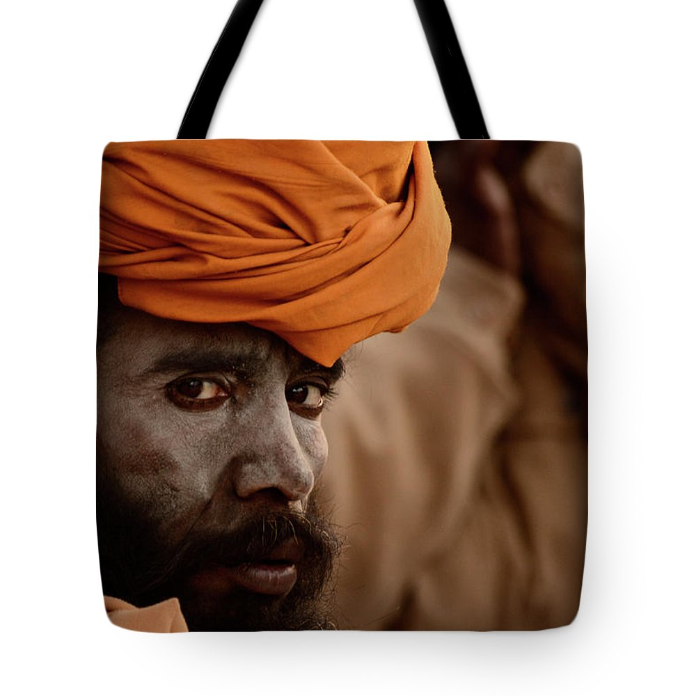 Tote Bag featuring the photograph The Portrait by Kavi Kumar