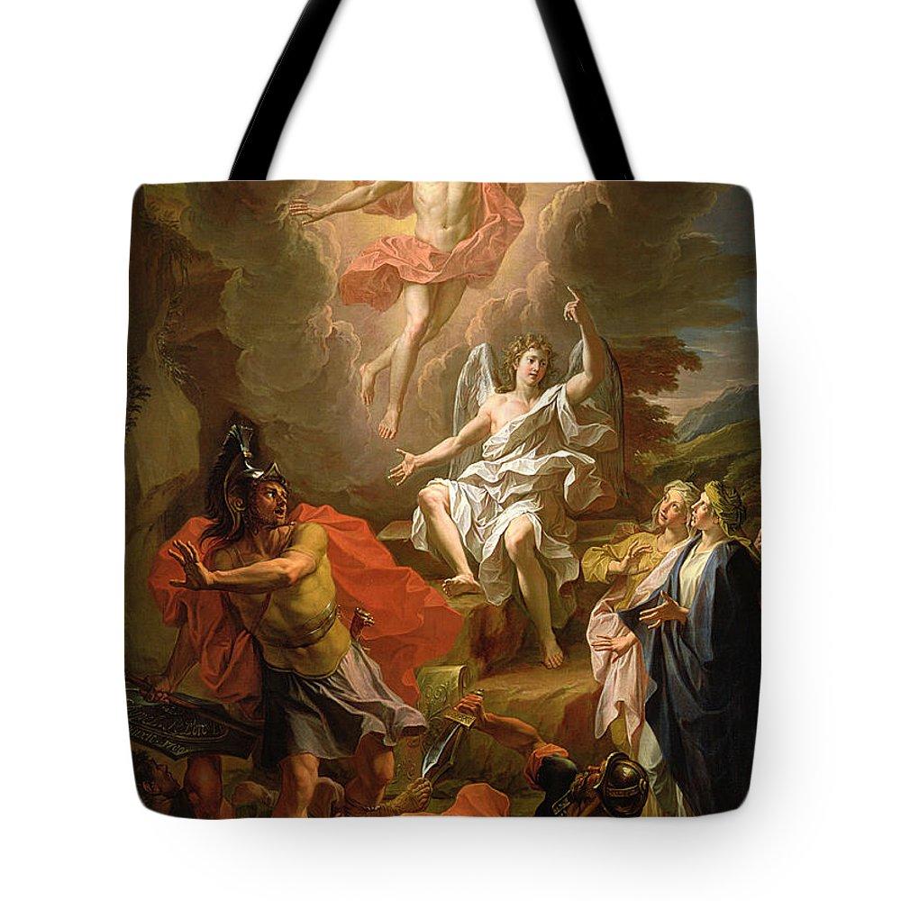 Resurrection Tote Bags