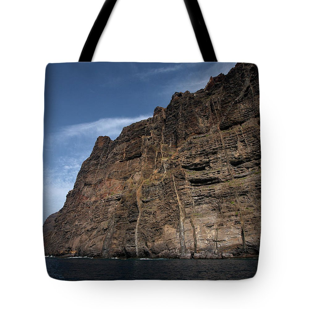 Valasretki Tote Bag featuring the photograph The Rocks Of Los Gigantes 1 by Jouko Lehto