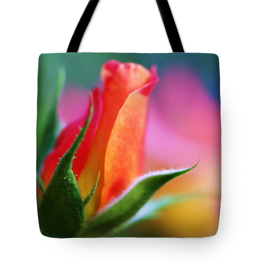 Rose Tote Bag featuring the photograph The Rose by Mitch Cat