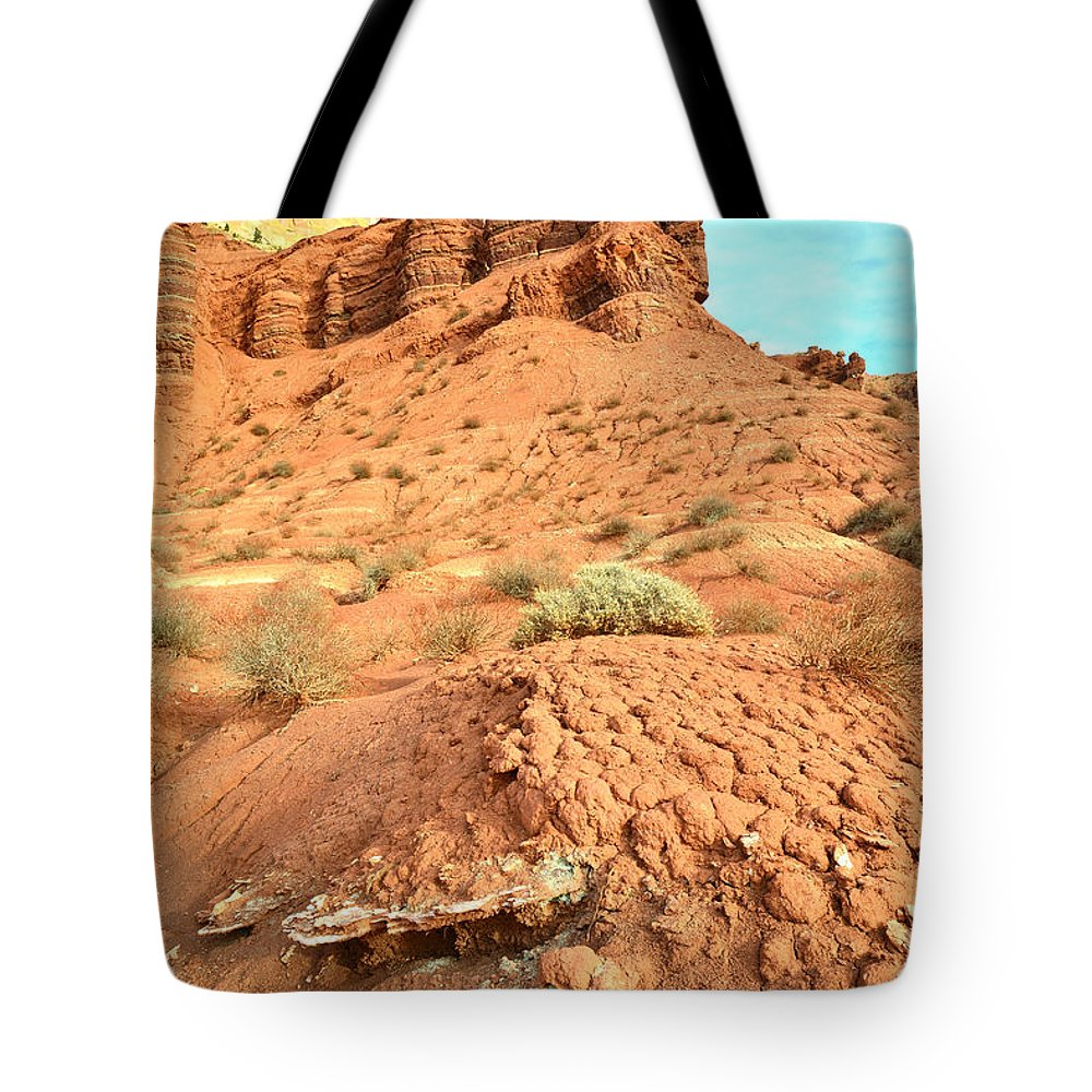 Capitol Reef National Park Tote Bag featuring the photograph the Scenic Drive III by Ray Mathis
