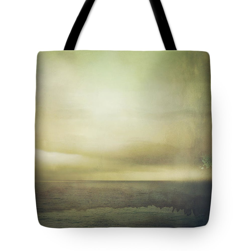 Sea Tote Bag featuring the photograph The Seashore by Mark Owen