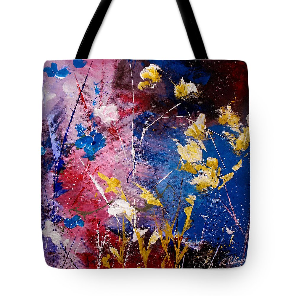 Acrylic Tote Bag featuring the painting The Season Of Singing Has Come by Ruth Palmer