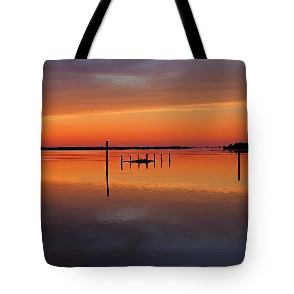 Sunset Tote Bag featuring the photograph The Seduction Wizard by Michiale Schneider