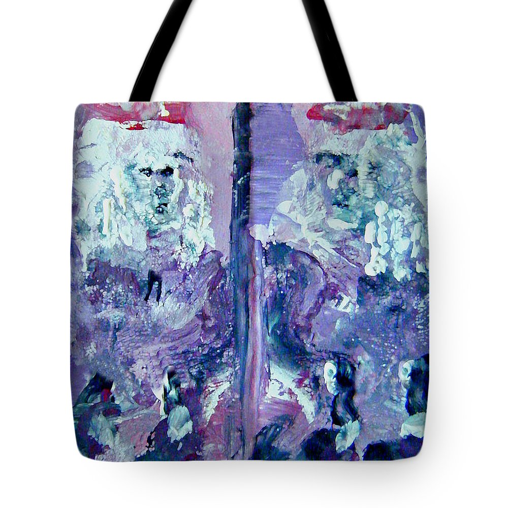 Pride Tote Bag featuring the painting The Seven Deadly Sins- Pride by Colleen Ranney