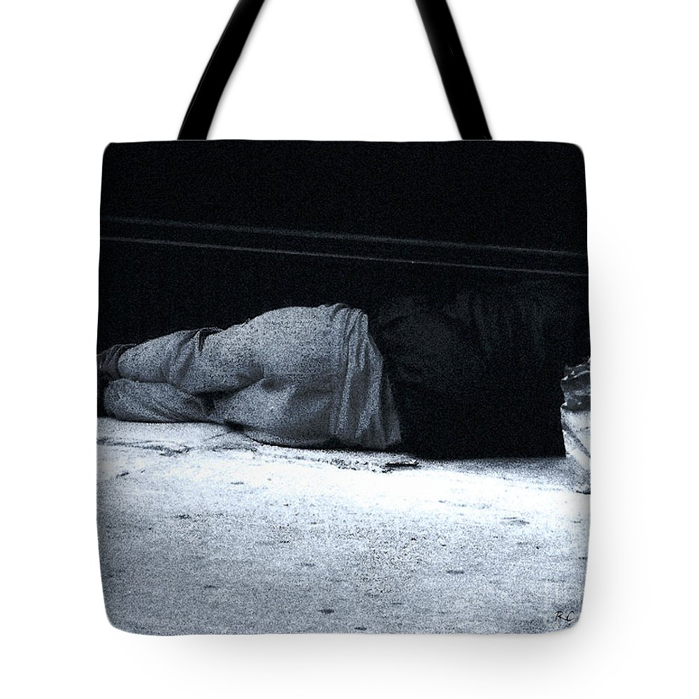 Homeless Tote Bag featuring the photograph The Sidewalks Of New York by RC deWinter