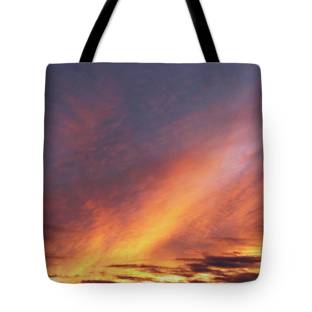 Yellow Tote Bag featuring the photograph The Sky How It Moves Me by Teri Schuster