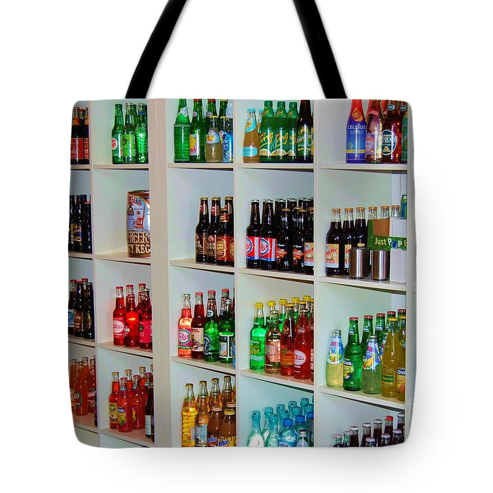 Soda Tote Bag featuring the photograph The Soda Gallery by Debbi Granruth