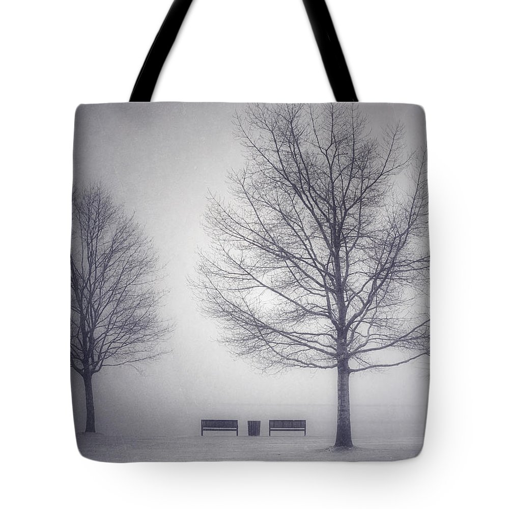 Photography Tote Bag featuring the photograph The Soft Breath Of Winter by Tara Turner