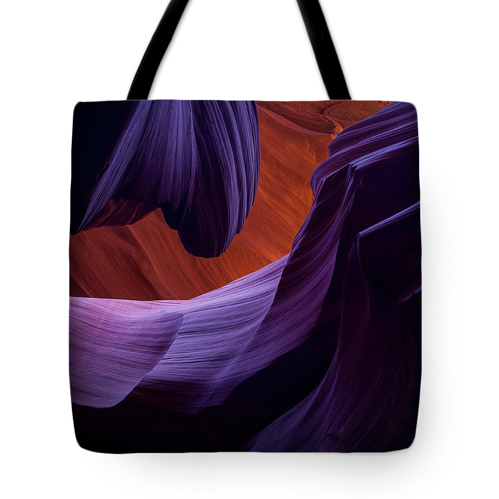 Amaizing Tote Bag featuring the photograph The Song Of Sandstone by Edgars Erglis