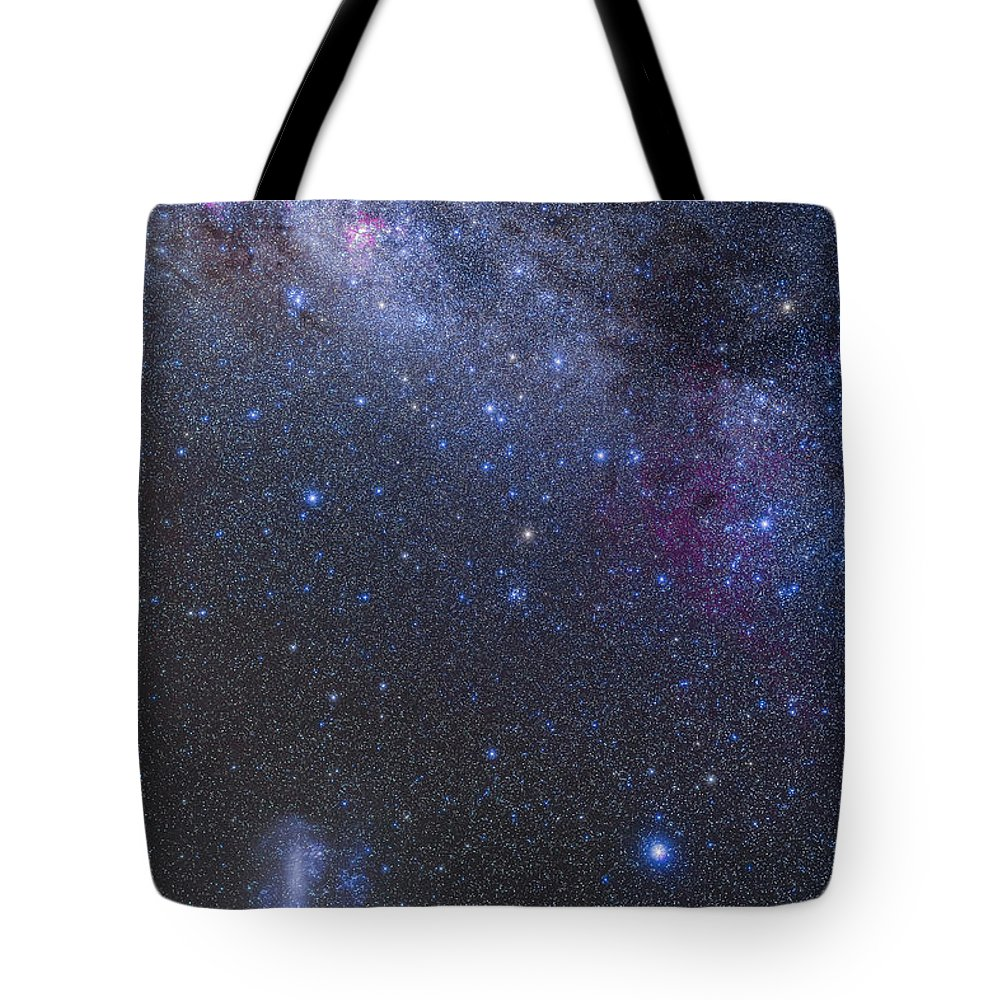 Australia Tote Bag featuring the photograph The Southern Sky And Milky Way by Alan Dyer