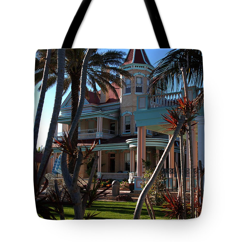 Southernmost Hotel Tote Bag featuring the photograph The Southernmost Hotel by Susanne Van Hulst