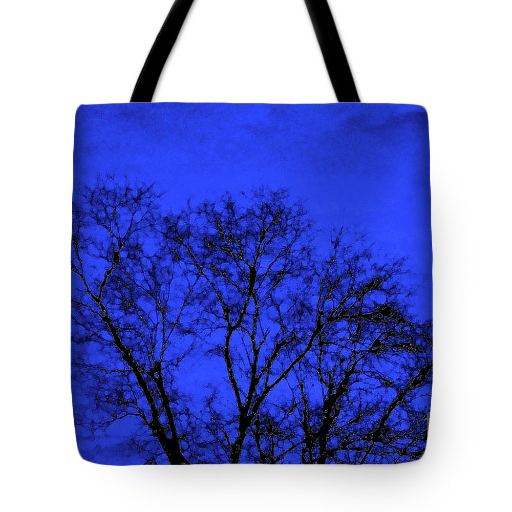 Tree Tote Bag featuring the photograph The Sparkle Tree by Andee Design