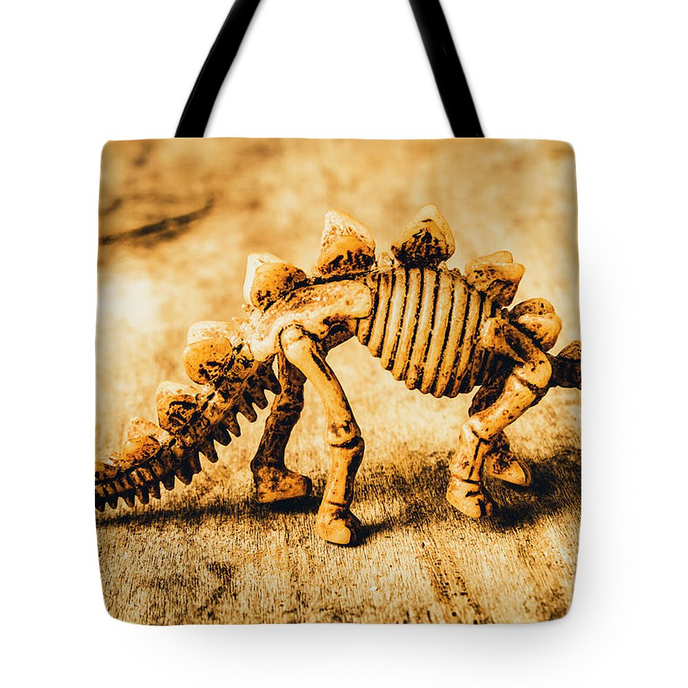 Exhibit Tote Bag featuring the photograph The Stegosaurus Art In Form by Jorgo Photography - Wall Art Gallery