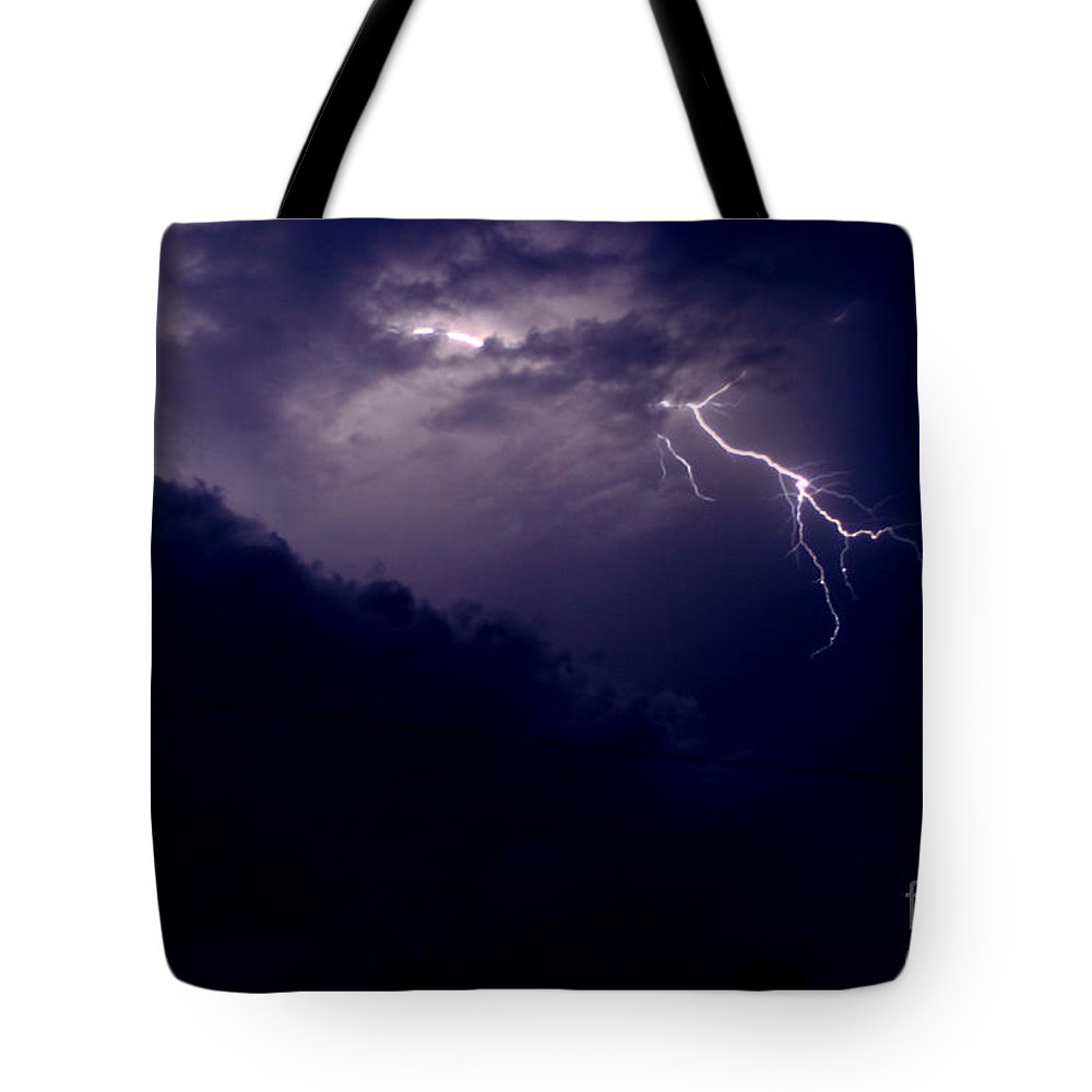 Sky Tote Bag featuring the photograph The Storm 1.3 by Joseph A Langley