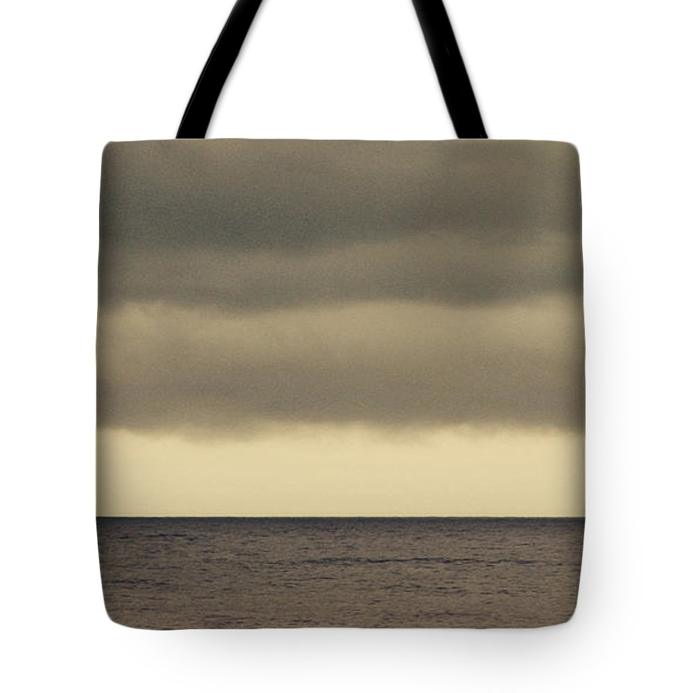 Ocean Tote Bag featuring the photograph The Storm Came With Fury by Dana DiPasquale