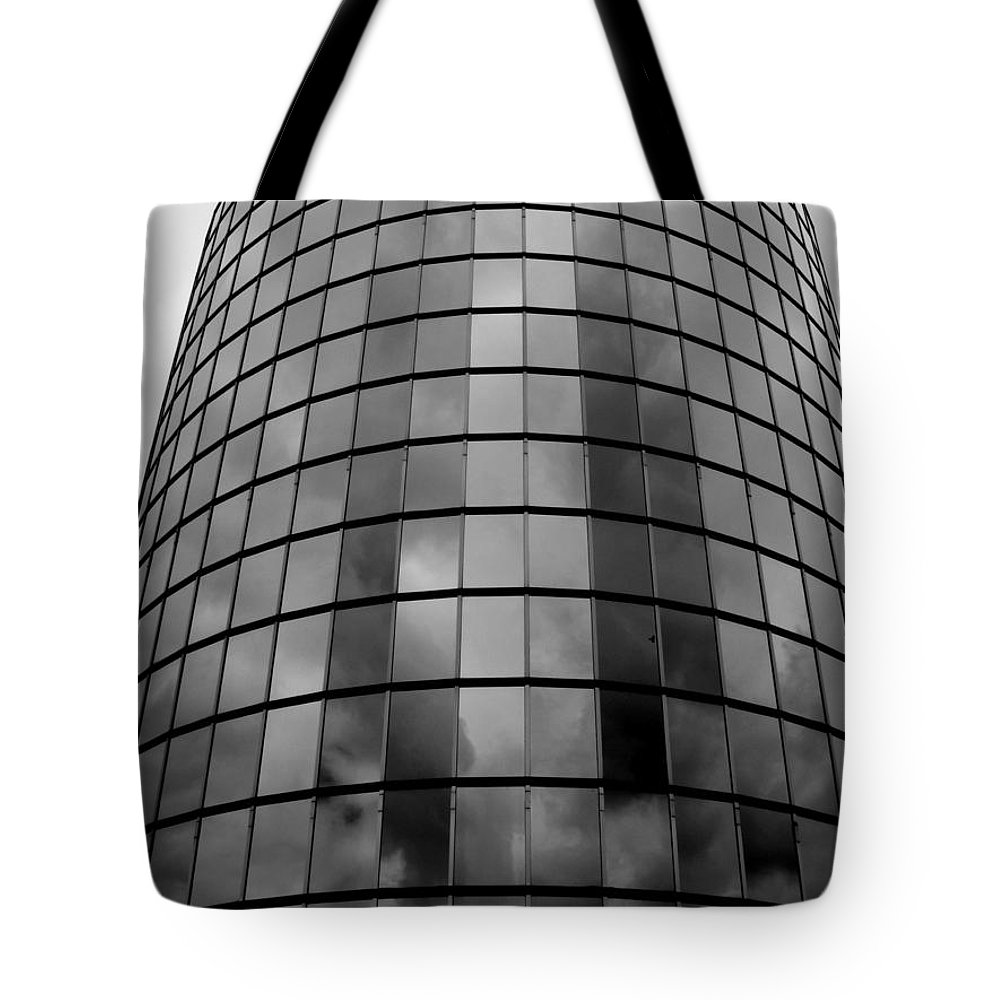 The Storm Has Arrived Tote Bag featuring the photograph The Storm Has Arrived by Ed Smith