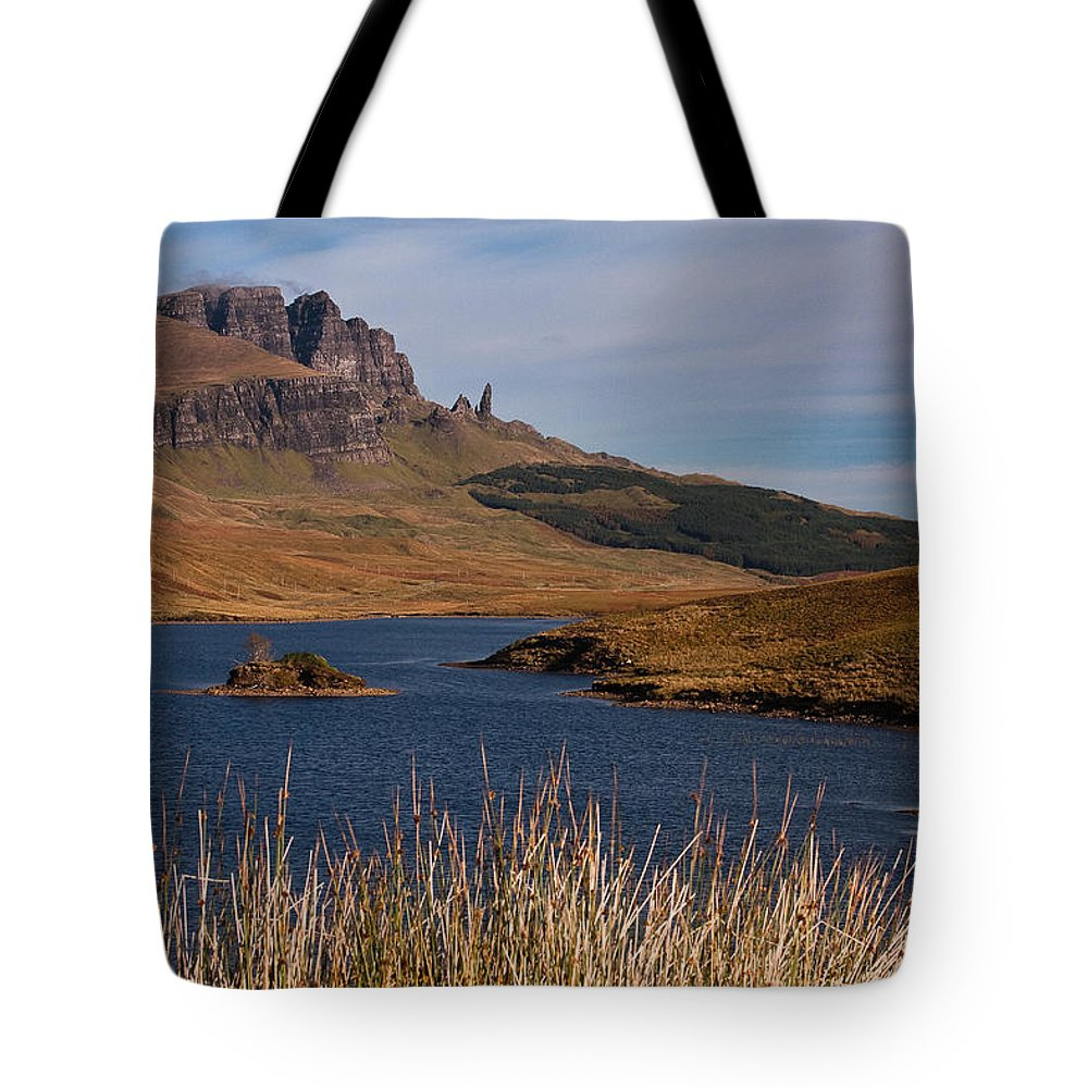 Scotland Tote Bag featuring the photograph The Storr by Colette Panaioti