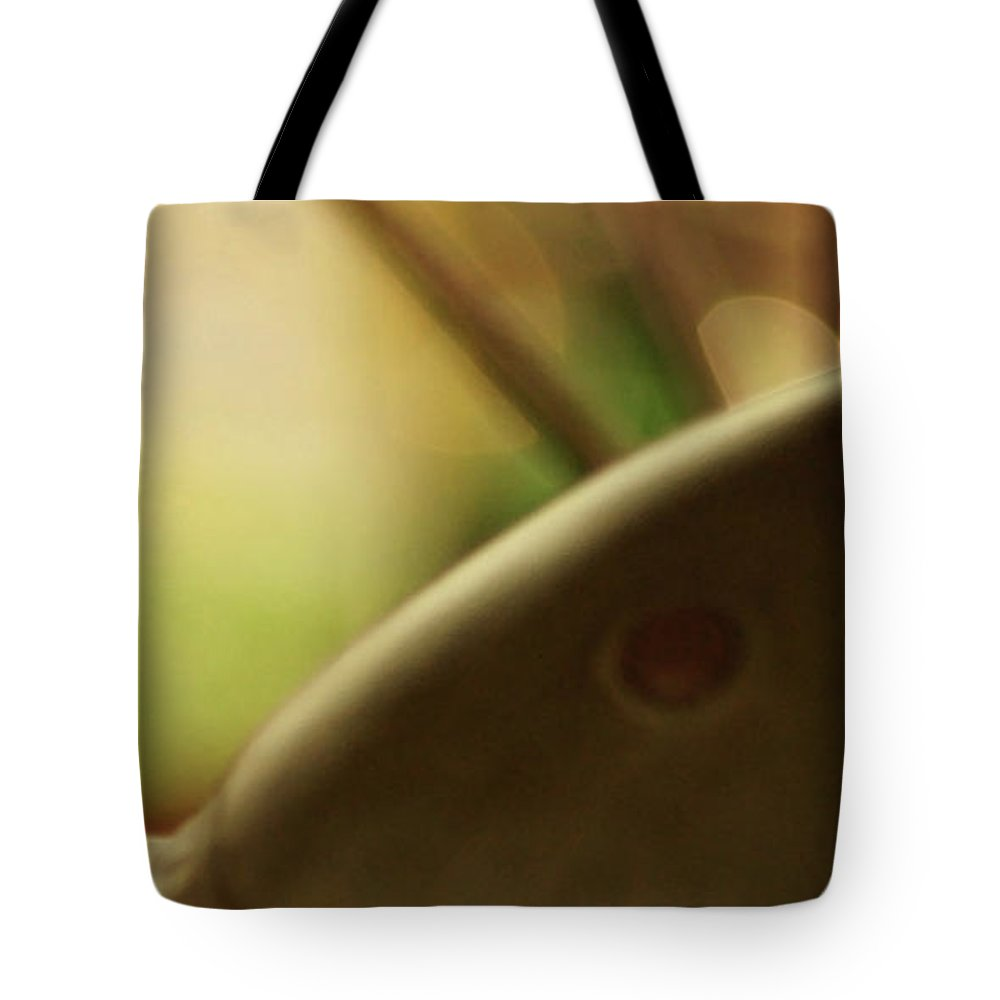 Abstract Tote Bag featuring the photograph The Storyteller by Linda Shafer