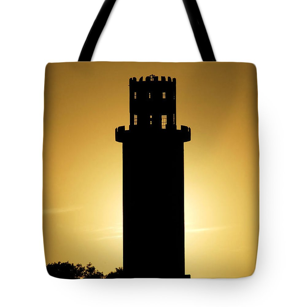 Sulphur Springs Tote Bag featuring the photograph The Sulphur Springs Tower by David Lee Thompson