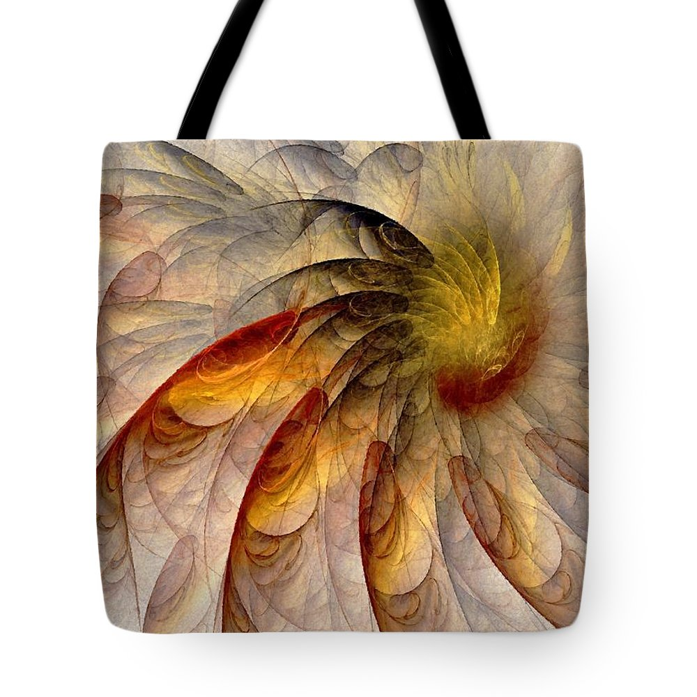 Sun Tote Bag featuring the digital art The Sun Do Move - Remembering Langston Hughes by NirvanaBlues