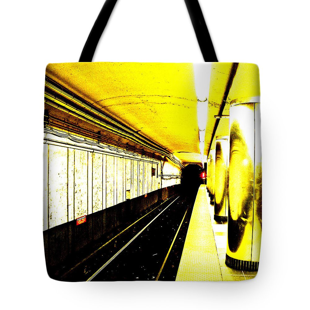 The T Tote Bag featuring the photograph The T by Donna Shahan