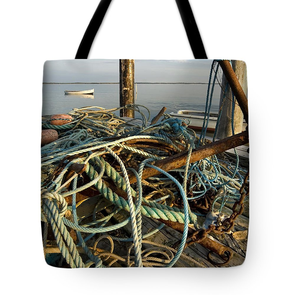 Tangle Tote Bag featuring the photograph The Tangle by Robert Lacy