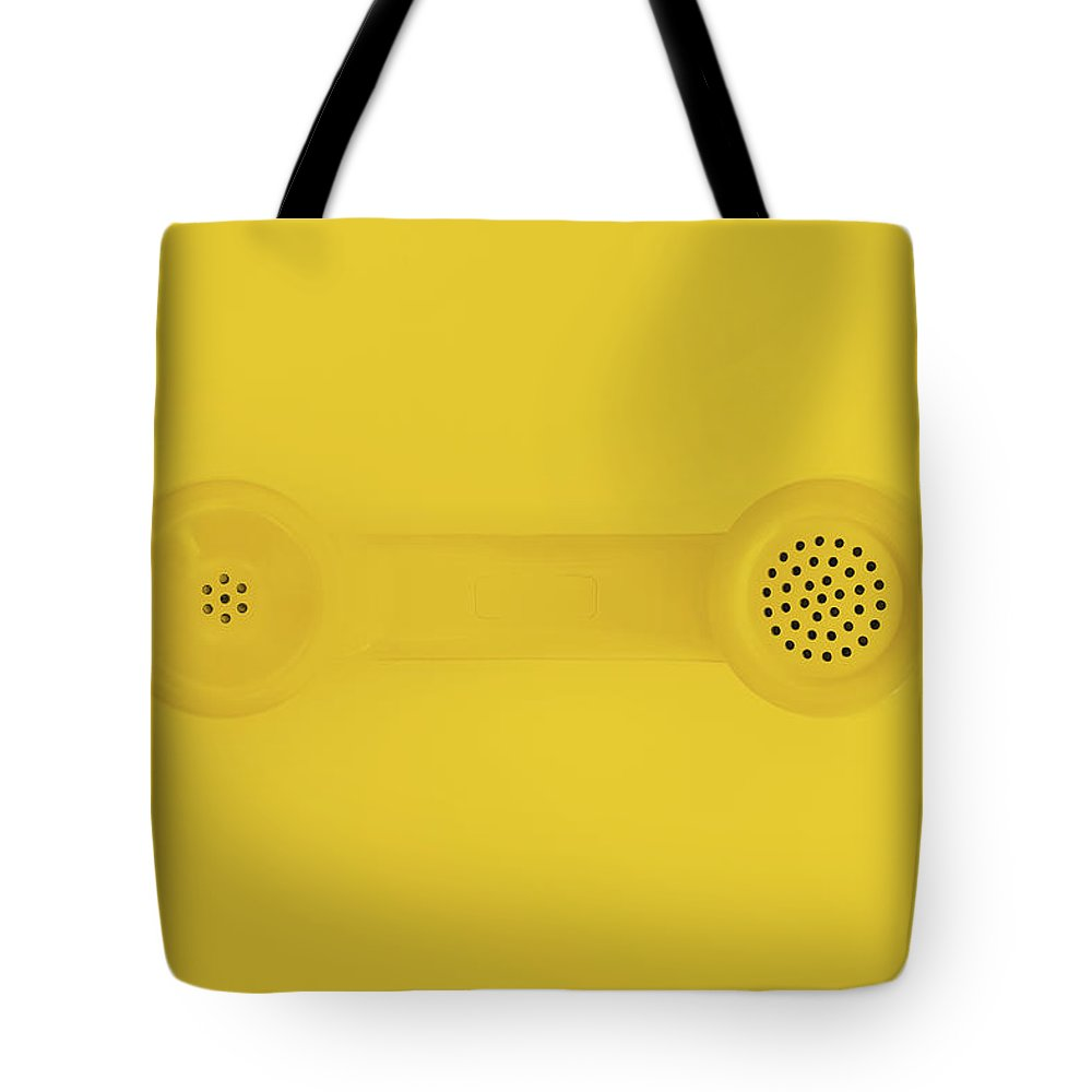 Telephone Tote Bag featuring the photograph The Telephone Handset by Scott Norris