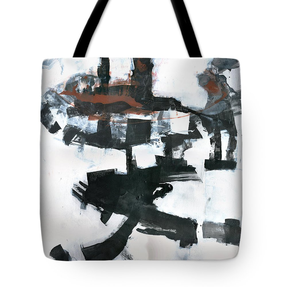 Tower Tote Bag featuring the painting The Tower by Patricia Ariel