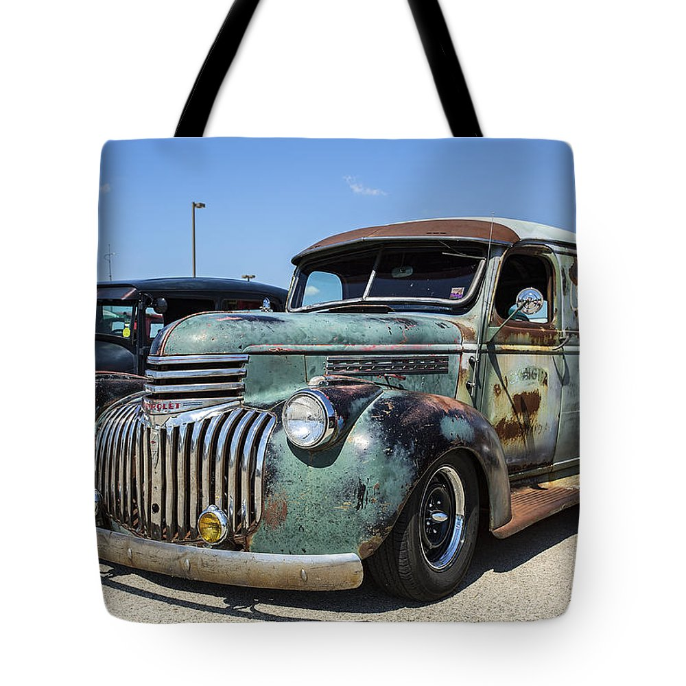 Www.cjschmit.com Tote Bag featuring the photograph The Truck by CJ Schmit
