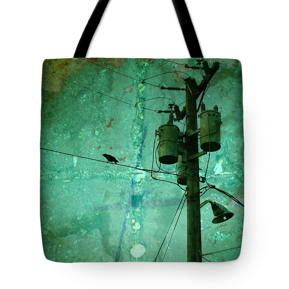 Urban Tote Bag featuring the photograph The Urban Crow by Tara Turner