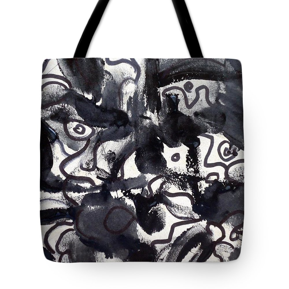 Art Trendsetting Universal Tote Bag featuring the painting The Veritable Aspects Of Uli Arts #223 by Mbonu Emerem