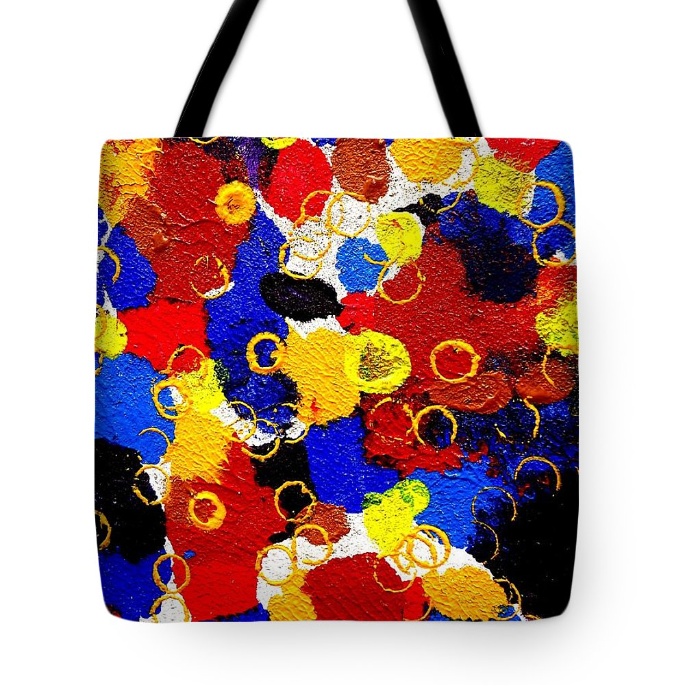 Art Trendsetting Universal Tote Bag featuring the painting The Veritable Aspects Of Uli Arts #330 by Mbonu Emerem