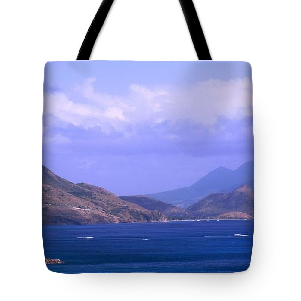 Marshalls Tote Bag featuring the photograph The View From Marshalls by Ian MacDonald
