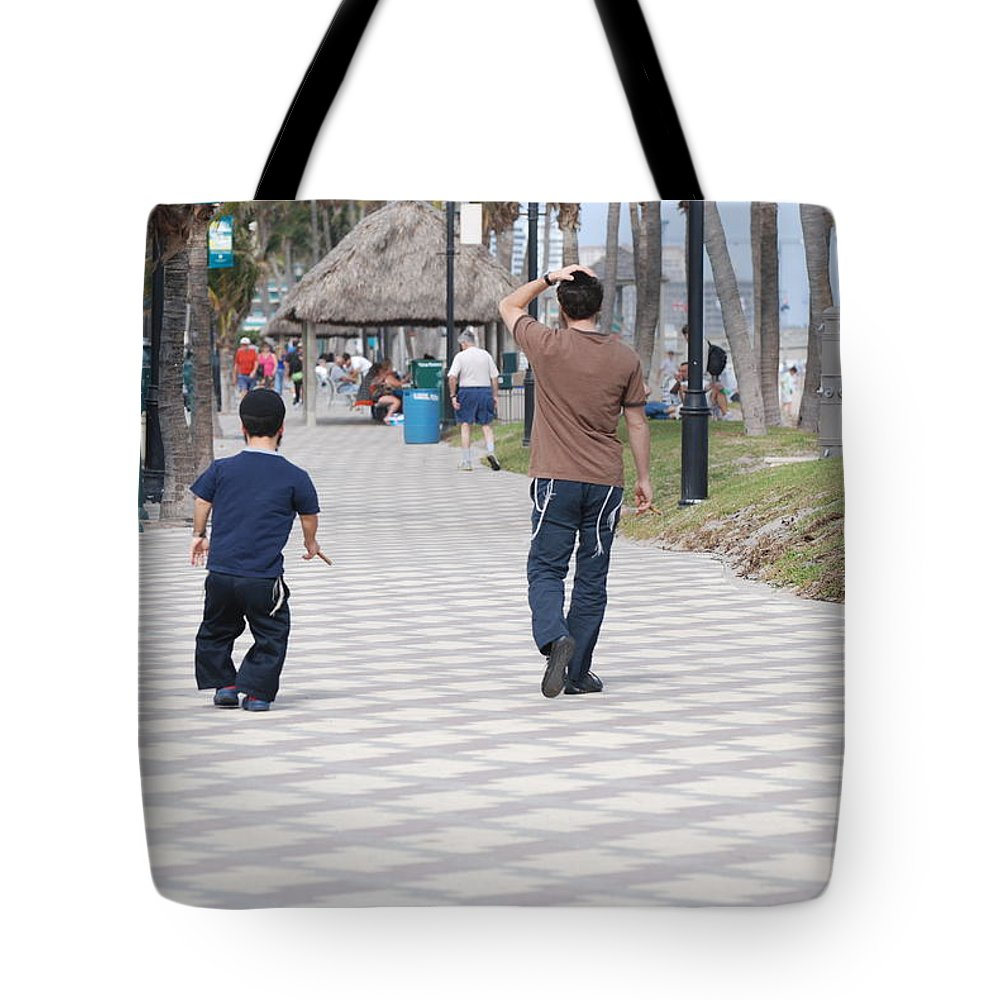 Man Tote Bag featuring the photograph The Walk by Rob Hans