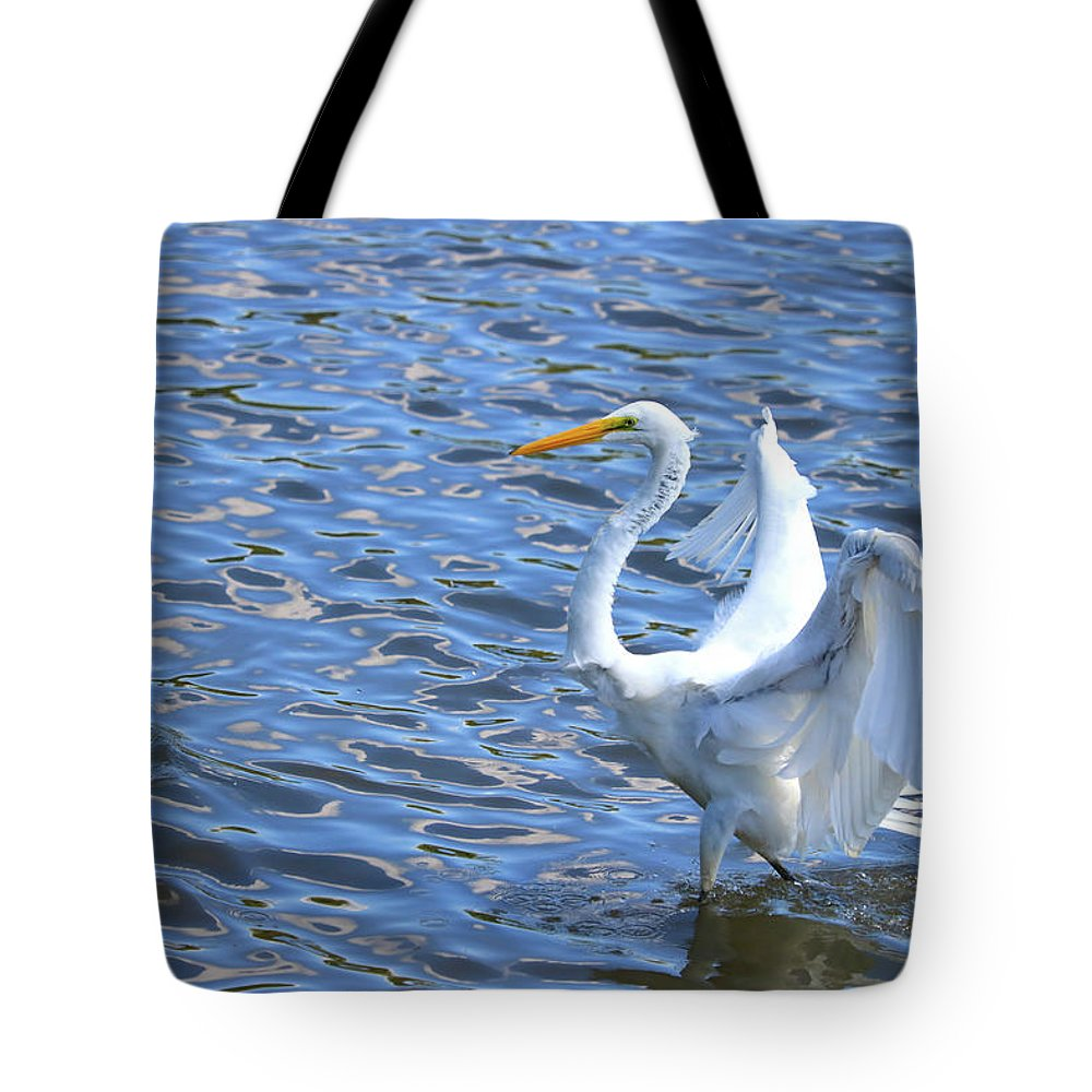 Tote Bag featuring the photograph The Walk by Tony Umana