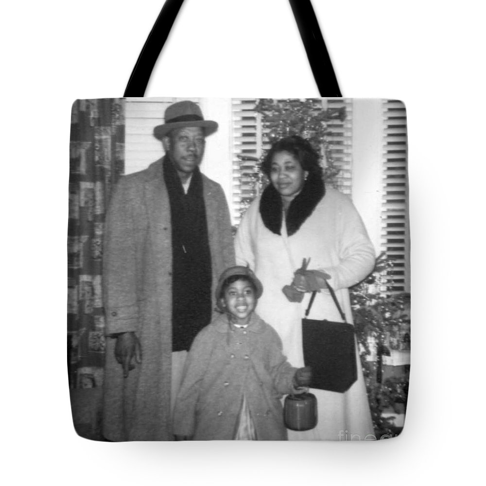 Tote Bag featuring the photograph The Walkers by Angela L Walker