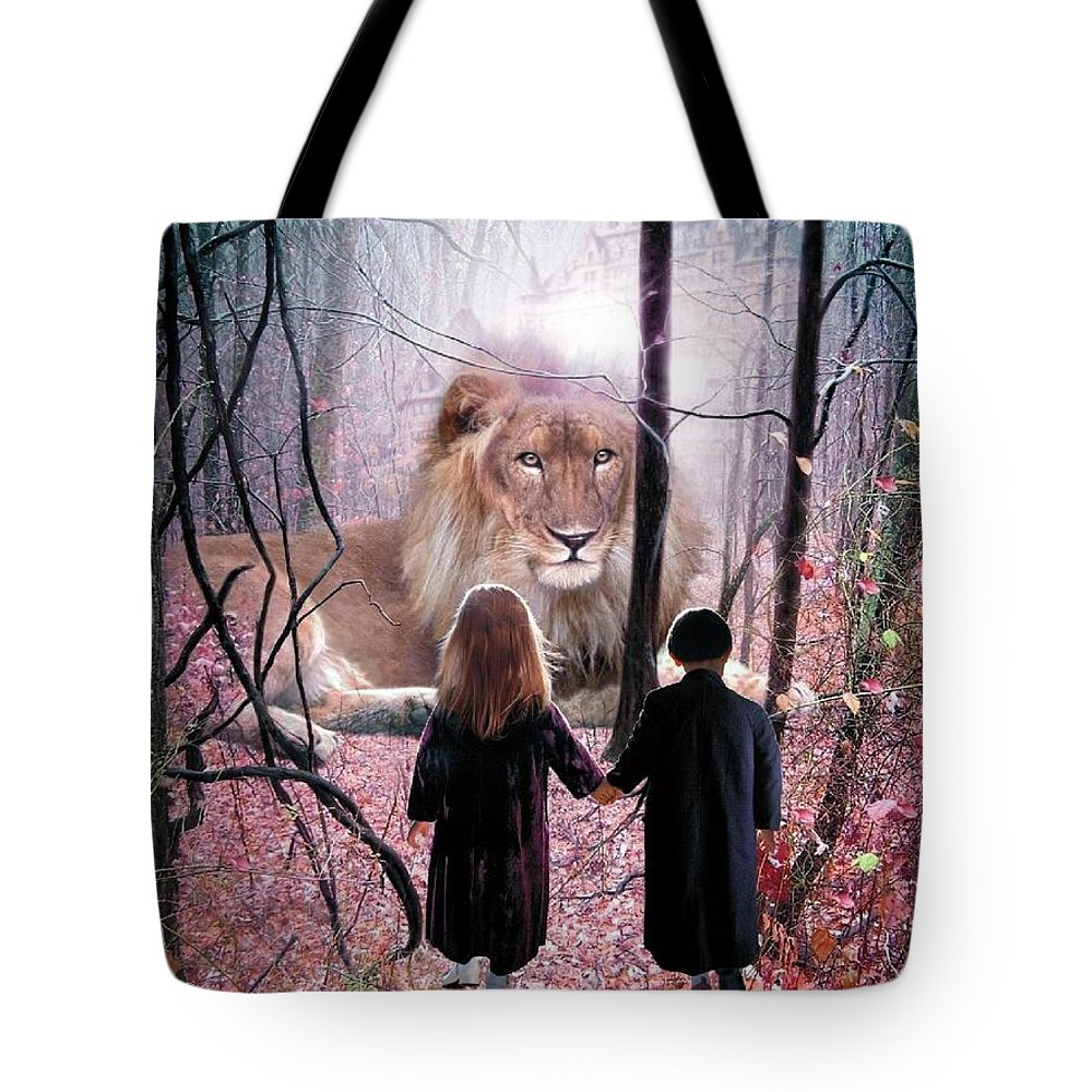 Children Tote Bag featuring the digital art The Way by Bill Stephens