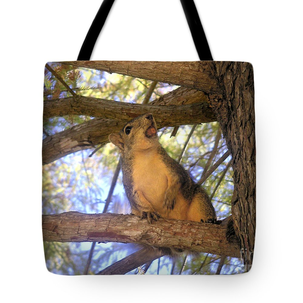 Nature Tote Bag featuring the photograph The Winner by Lucyna A M Green