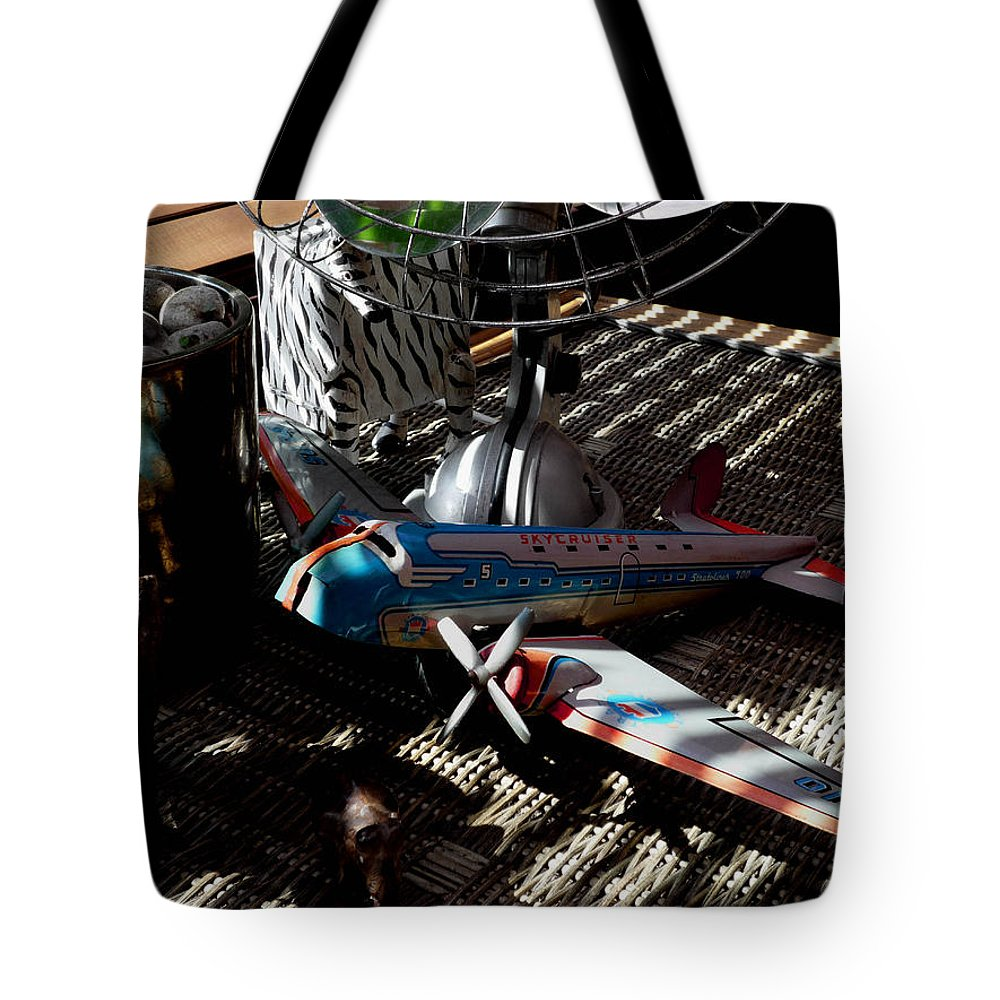 Still Life Tote Bag featuring the photograph The Zebra In Colour by Charles Stuart
