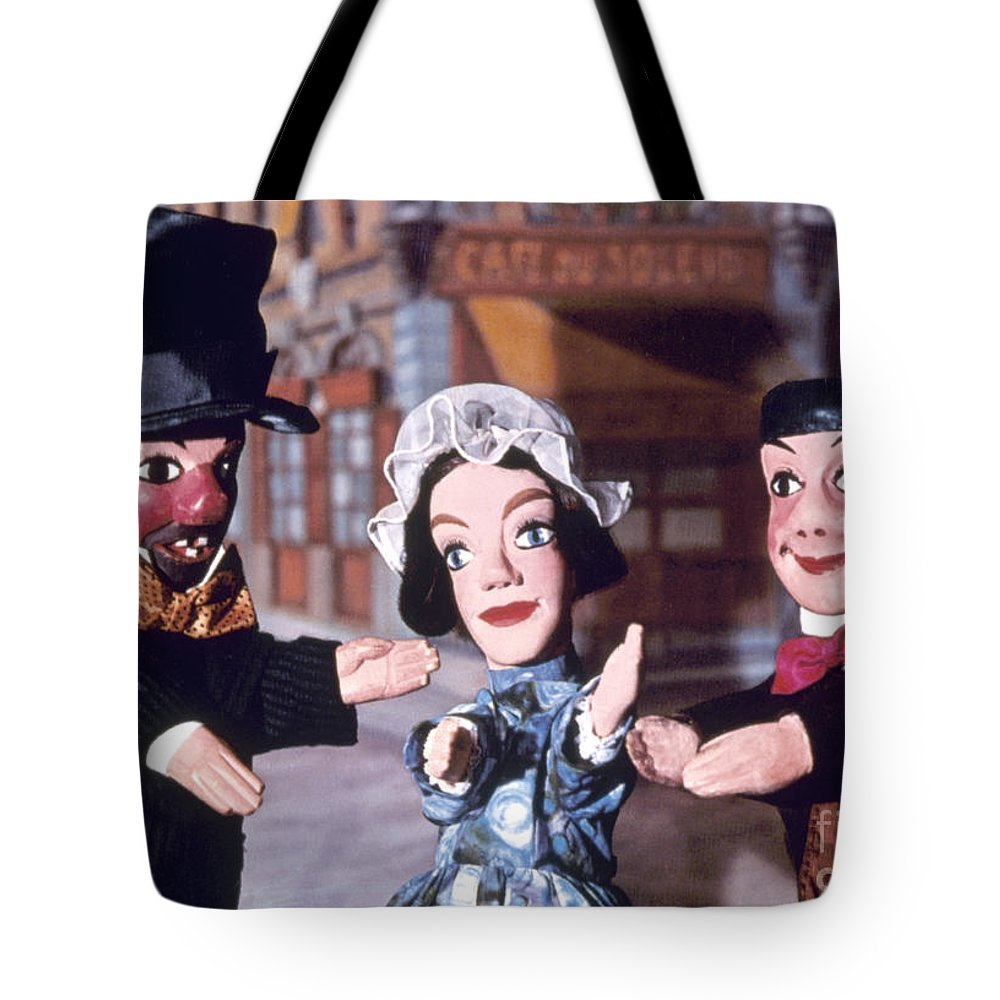 Entertainment Tote Bag featuring the photograph Theater: Puppet Characters by Granger
