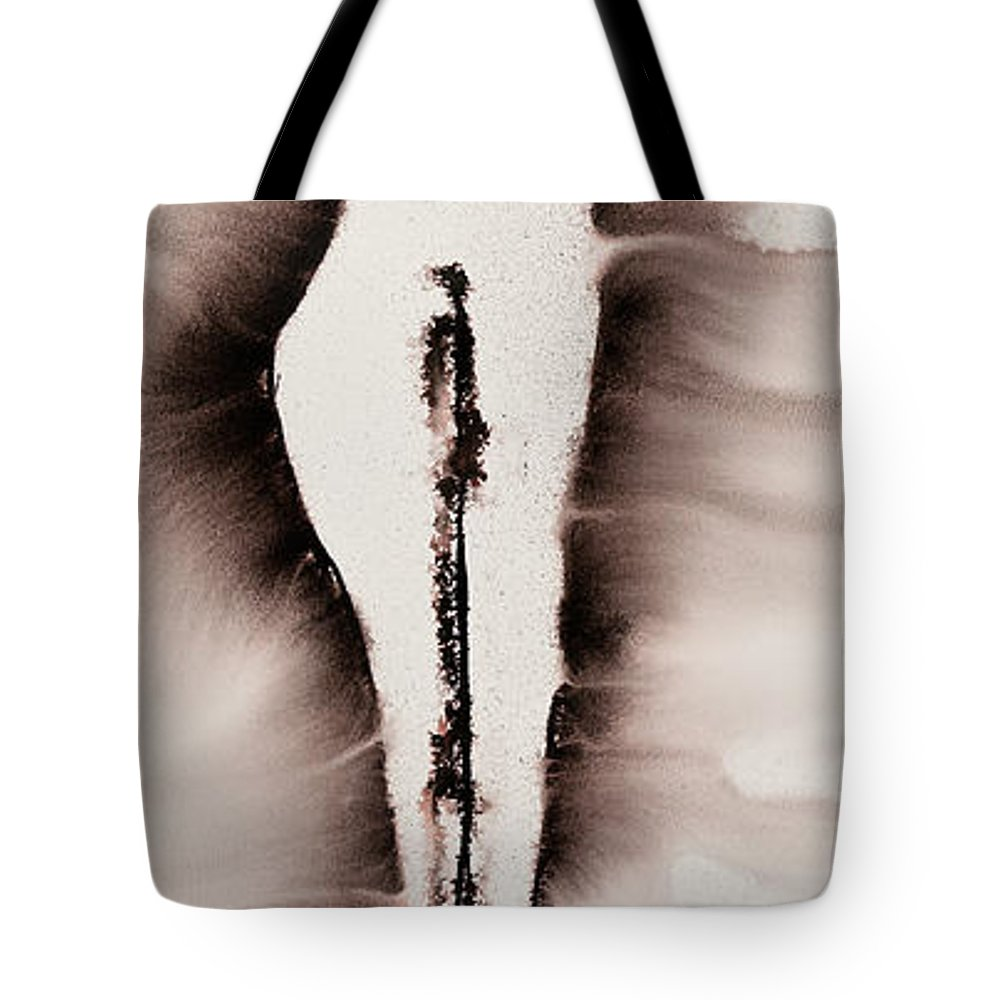 Ilisa Millermoon Tote Bag featuring the painting Their Dance by Ilisa Millermoon