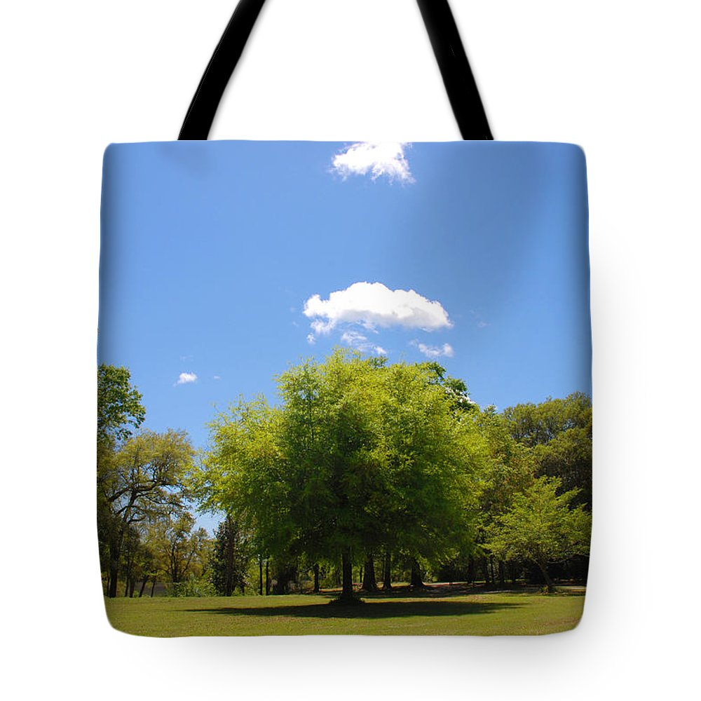 Photography Tote Bag featuring the photograph There Are Some Clouds by Susanne Van Hulst