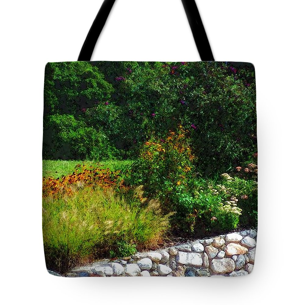 Connecticut Tote Bag featuring the painting These Are A Few Of My Favorite Things by RC DeWinter